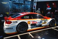 BMW som är sportcar på utställningen Royaltyfri Fotografi