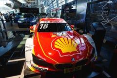 BMW sportcar在陈列 免版税库存图片