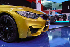 BMW Stand: BMW M4 Stock Images