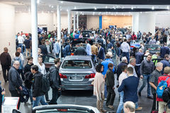 BMW stand at the IAA 2015 in Frankfurt Royalty Free Stock Photo