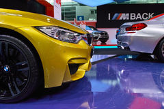 BMW Stand: M4 & M6 Gran Coupe Royalty Free Stock Image