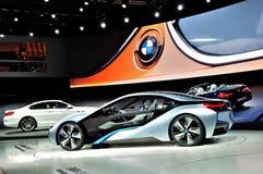 BMW stehen auf IAA Frankfurt 2011 Lizenzfreies Stockfoto