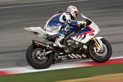 bmw superbike Zdjęcia Royalty Free
