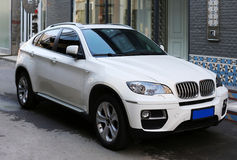 BMW SUV Royaltyfria Foton