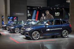 BMW X3 SUV car Royalty Free Stock Photography