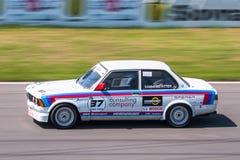 BMW tävlings- bil för 3 serie Fotografering för Bildbyråer