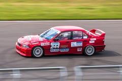 BMW tävlings- bil för 3 serie Arkivbild