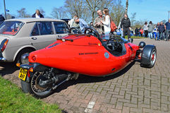 A BMW Three Wheeler Car Royalty Free Stock Images