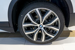 BMW tire Royalty Free Stock Photos