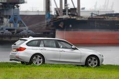 BMW 5 Tourer Royalty Free Stock Photo