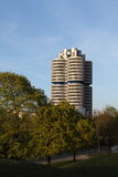 BMW tower in Munich, Germany Royalty Free Stock Photos