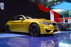 BMW-Tribune: BMW M4 Stock Fotografie