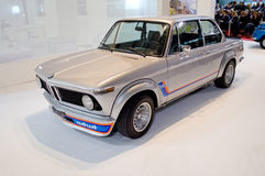 BMW Turbo 2002 à Milan Autoclassica 2016 Photos libres de droits