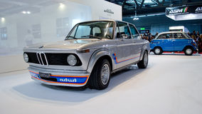 BMW 2002 Turbo at Milano Autoclassica 2016 Stock Image