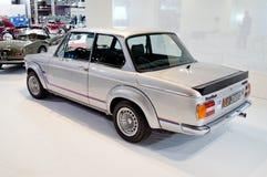 BMW 2002 Turbo przy Milano Autoclassica 2016 Obraz Royalty Free