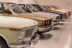 BMW una raccolta di 3 serie - storia Immagine Stock