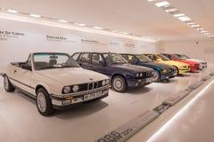 BMW una raccolta di 3 serie - storia Fotografia Stock Libera da Diritti