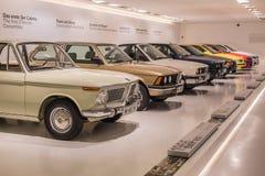 BMW una raccolta di 3 serie - storia Fotografia Stock