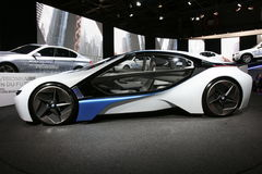 BMW visio hybrid car Royalty Free Stock Photos