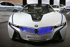BMW visio hybrid car Stock Photos