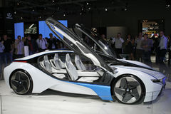 BMW Vision Efficient Dynamics. At the Moscow International Automobile Salon (MIAS-2010) August 25 - September 5 Royalty Free Stock Image