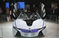 BMW Vision Efficient Dynamics. At the Moscow International Automobile Salon (MIAS-2010) August 25 - September 5 Royalty Free Stock Photo