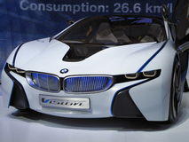 BMW Vision Efficient Dynamics Concept Car. The new BMW Vision Efficient Dynamics Concept car at a car show Bangkok, Thailand Stock Photo