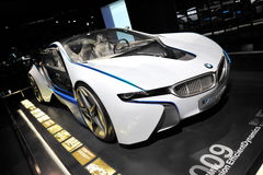 BMW Vision Efficient Dynamics concept car on display in BMW Museum Stock Images