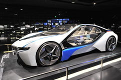 BMW Vision Efficient Dynamics concept car on display in BMW Museum Stock Photos