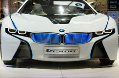 BMW Vision EfficientDynamics Concept car Royalty Free Stock Photos