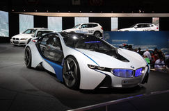 BMW Vision EfficientDynamics at Paris Motor Show Stock Photos