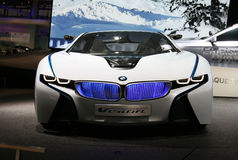 BMW Vision EfficientDynamics at Paris Motor Show Royalty Free Stock Photo