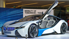 The BMW Vision EfficientDynamics vehicle Royalty Free Stock Photos