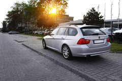 BMW 3 voyageant Images stock