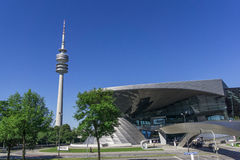 BMW welt building Stock Photo