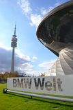 BMW Welt in Munich Royalty Free Stock Photos