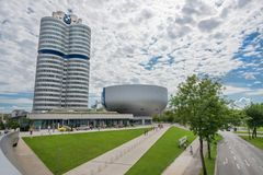 BMW Welt of Muniche Royalty Free Stock Photo