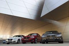 BMW-wereld royalty-vrije stock afbeelding