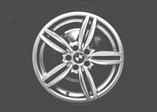 BMW wheel Royalty Free Stock Photography