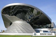 BMW Worl στο Μόναχο, Βαυαρία, Γερμανία Στοκ εικόνα με δικαίωμα ελεύθερης χρήσης