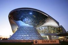BMW Worl в Мюнхене, Баварии, Германии Стоковые Изображения RF
