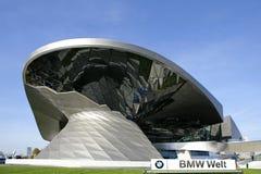 BMW Worl в Мюнхене, Баварии, Германии Стоковые Фото