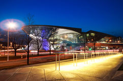 BMW World (BMW Welt) in Munich at night. Royalty Free Stock Photos