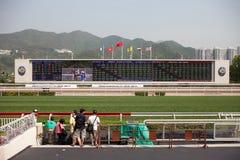 bmw wstawia się milowego racecourse raceday sha cynę Zdjęcia Royalty Free