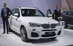 BMW X3 Fotografía de archivo libre de regalías