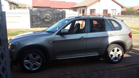 BMW X5 Photo libre de droits