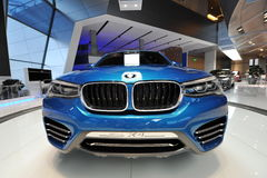 BMW X4 concept car on display at BMW World Royalty Free Stock Images