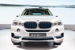 BMW X5 eDrive en la exhibición Fotos de archivo