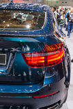 BMW X6 in Geneva Motor Show Stock Photos