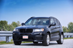 BMW X3-M the sport version Royalty Free Stock Photo